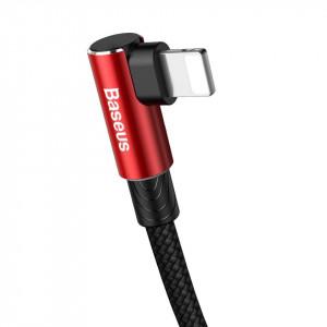 Cablu 90 grade USB-C - Lightning PD Baseus MVP Elbow, 18W, 1m (rosu)