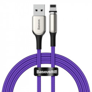 Cablu magnetic Lightning Baseus Zinc 1.5A 2m (violet)