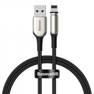 Cablu magnetic Lightning Baseus Zinc 2A 1m (negru)
