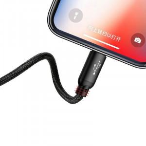 Cablu USB Baseus 3in1 USB-C / Lightning / Micro 3,5A 0,3m (negru)