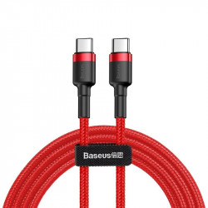Cablu USB-C PD Baseus Cafule PD 2.0 QC 3.0 60W 2m (rosu)