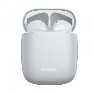 Casti True Wireless Baseus Encok W04 TWS, Bluetooth 5.0 (alb)