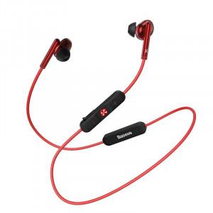 Casti wireless Baseus Encok S30, Bluetooth 5.0 (rosu)