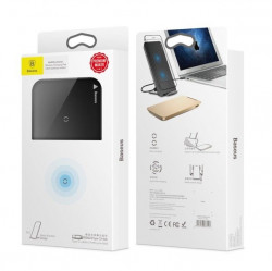 Incarcator wireless Qi Baseus USB-C - negru