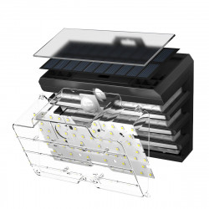 Lampa exterior Baseus Matrix cu LED si senzor de miscare (2 buc)