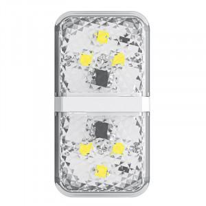 Lumina avertizare auto Baseus Door Open Warning Light pt portiera 2 buc (alb)