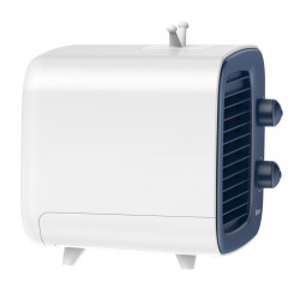 Mini aer conditionat Baseus Time ventilator, umidificator (albastru-alb)