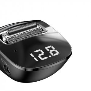Modulator FM auto Baseus Streamer F40, AUX, Bluetooth 5.0, 2x USB, 3A (negru)