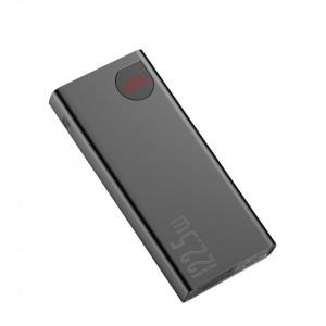 Powerbank Baseus Adaman, 20000mAh, metal, QC 3.0, PD, Huawei SCP, 22,5W (negru)