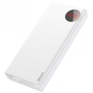 Powerbank Baseus Mulight 20000mAh Quick Charge 3.0 (alb)