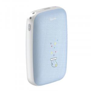 PowerBank cu functie de incalzire a mainilor Baseus Mini Q 10000 mAh - albastru