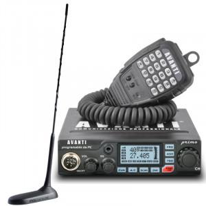 Promotie statie radio CB Avanti Primo + antena CB President Virginia UP