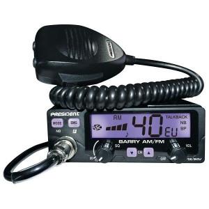 Promotie statie radio CB President Barry II + antena CB Avanti Carera