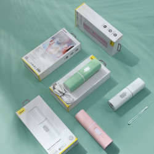 Ventilator portabil Baseus Square (verde)