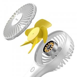 Ventilator portabil si de birou Baseus Bingo (alb)