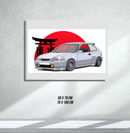 Honda (Tablouri Canvas)