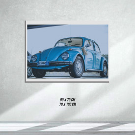 Volkswagen Beetle (Tablouri Canvas)