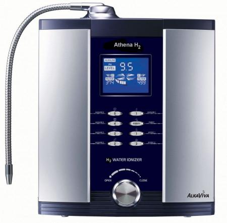 Poze Noul purificator ionizator apă AlkaViva Athena H2 filtre incluse