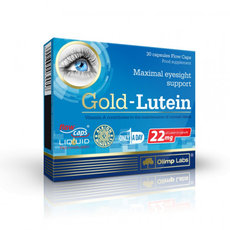 Poze Gold Lutein 30 cps