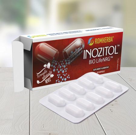 Poze Inozitol BIO LifeNRG de la ROMHERBA-blister 10 capsule