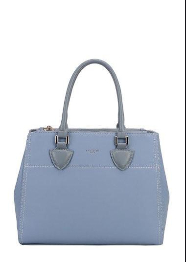 Geanta bleu dama originala David Jones CM5606BLUE