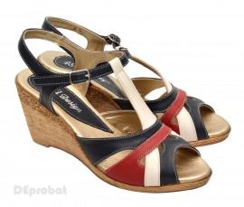 Poze Sandale dama elegante din piele naturala cod S14
