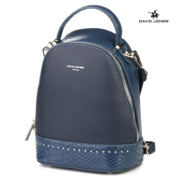 Geanta sport dama David Jones 5825-2DBLUE - Rucsac bleumarin David Jones