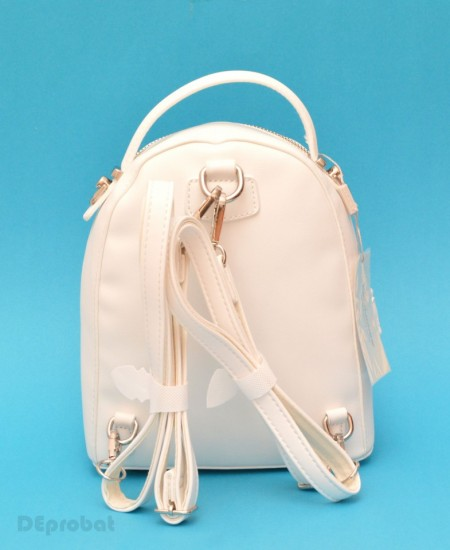 Poze Geanta sport dama David Jones 5957-2WHITE - Rucsac alb David Jones