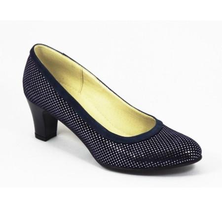 Poze Pantofi dama eleganti din piele naturala cod P311
