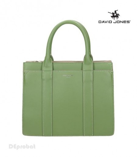 Geanta verde dama originala David Jones CM5001APLLEGREEN
