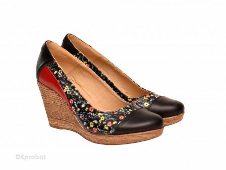 Poze Pantofi dama eleganti - casual din piele naturala cod P192