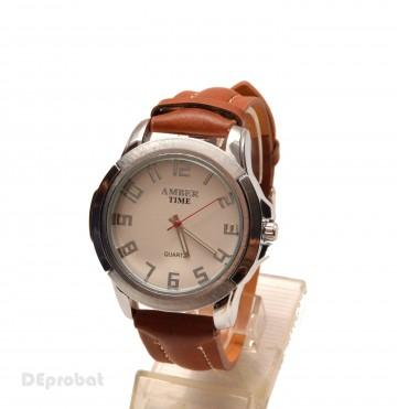Poze Ceas barbati Amber Time maro casual - elegant cod CC46