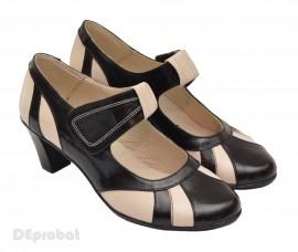 Pantofi dama eleganti - casual din piele naturala cod P33NB