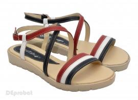 Poze Sandale dama piele naturala cu talpa joasa cod S19