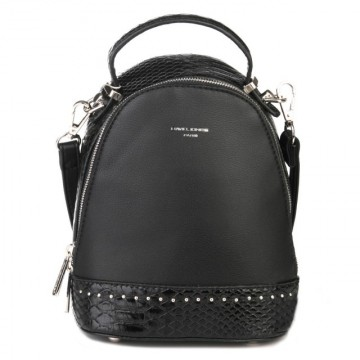 Poze Geanta sport dama originala David Jones 5825-2BLACK - Rucsac negru David Jones