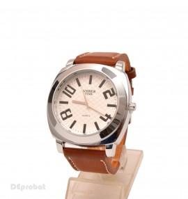 Poze Ceas barbati Amber Time maro casual - elegant cod CC42