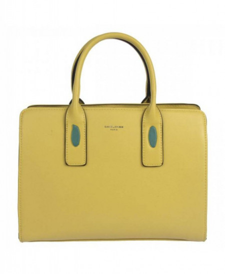 Geanta galbena dama originala David Jones CM5700YELLOW