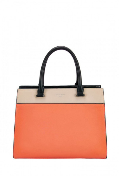 Geanta orange dama originala David Jones 6515-2ORANGE