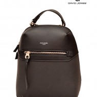 Geanta dama originala David Jones 5682-3BLACK - Rucsac David Jones negru