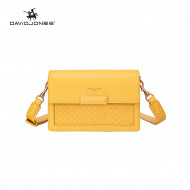 Geanta galbena dama originala David Jones GN21125YELLOW