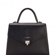 Geanta neagra dama originala David Jones 6506-1BLACK
