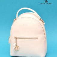 Geanta sport dama David Jones 5957-2WHITE - Rucsac alb David Jones