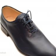 Pantofi barbati piele naturala bleumarin casual-eleganti cod P65BL - Editie de LUX
