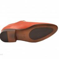Pantofi barbati piele naturala maro deschis cod P68MD - LICHIDARE STOC 42