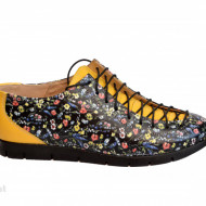 Pantofi dama lucrati manual din piele naturala cod P196