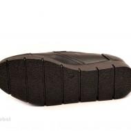 Pantofi dama negri sport-casual din piele naturala cu elastic cod P106
