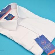 Camasa Slim Fit Alba eleganta - Camasa alba marime mare ZR79 (Marimi XL-5XL)