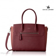Geanta bordo dama David Jones originala CM3948BORDO-DPINK