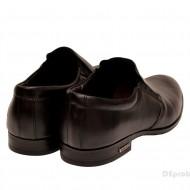 Pantofi barbati piele naturala negri casual-eleganti cod P131 - Editia Elegance
