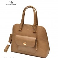 Geanta dama originala David Jones 5551-2TAUPE
